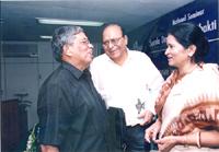 With Jnanpith Award Winner Dr.Sitakanta Mohapatra ..