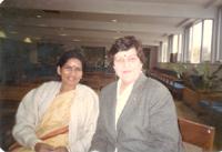 With Judith Rudriguez-Australian Poet, 1994